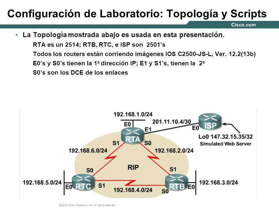 Configuración de Laboratorio: Topología y Scripts