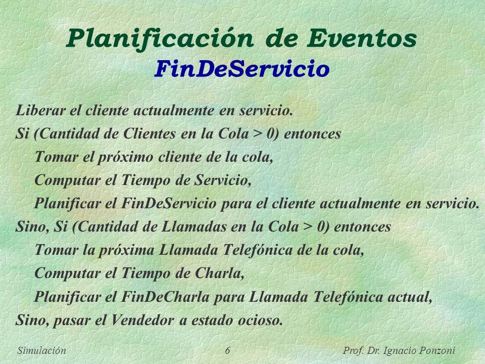 Planificación de Eventos FinDeServicio