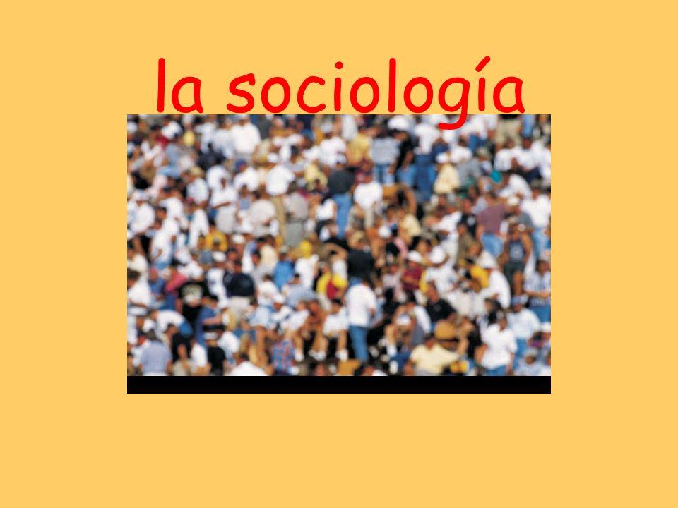 la sociología