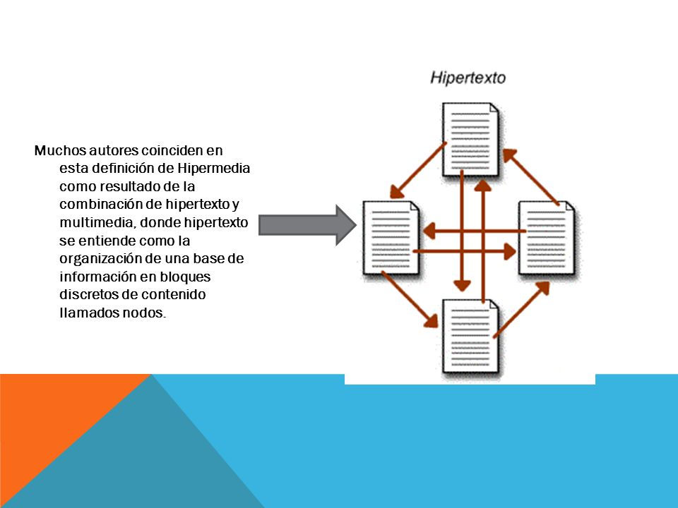 Hipermedia ppt descargar - Definicion de multimedia ...
