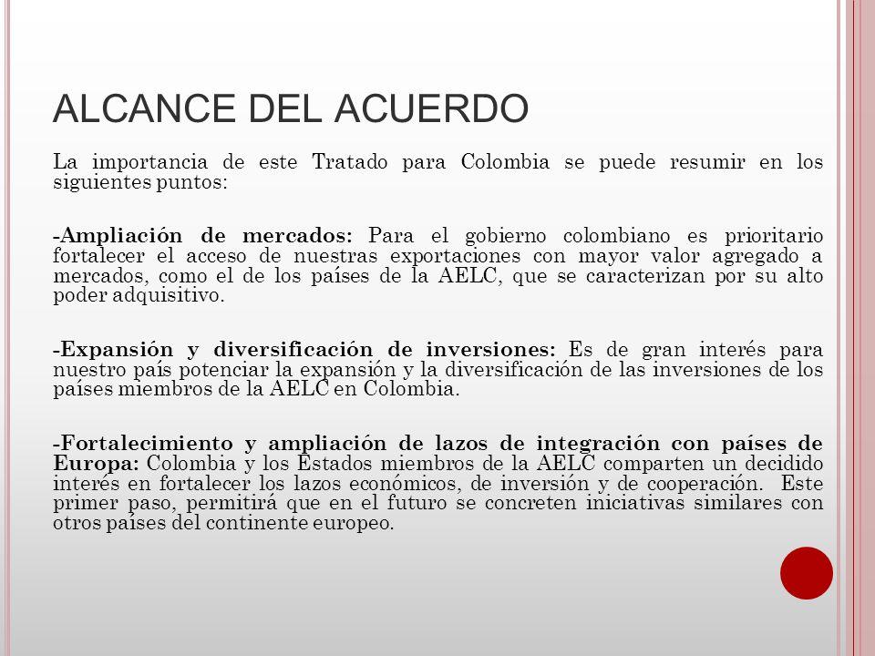 ALCANCE DEL ACUERDO