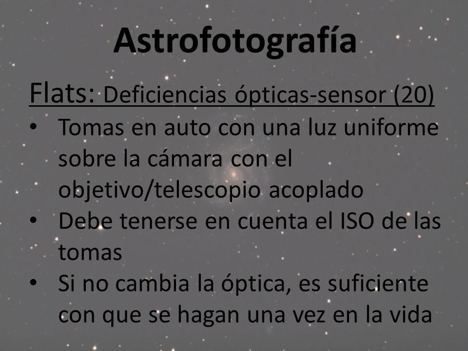 Astrofotografía Flats: Deficiencias ópticas-sensor (20)