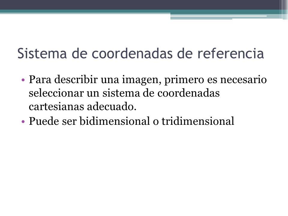 Sistema de coordenadas de referencia