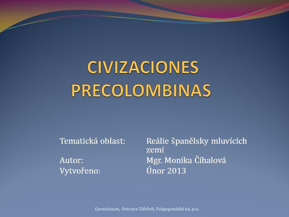 CIVIZACIONES PRECOLOMBINAS