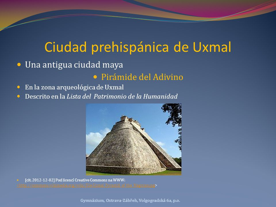 Ciudad prehispánica de Uxmal
