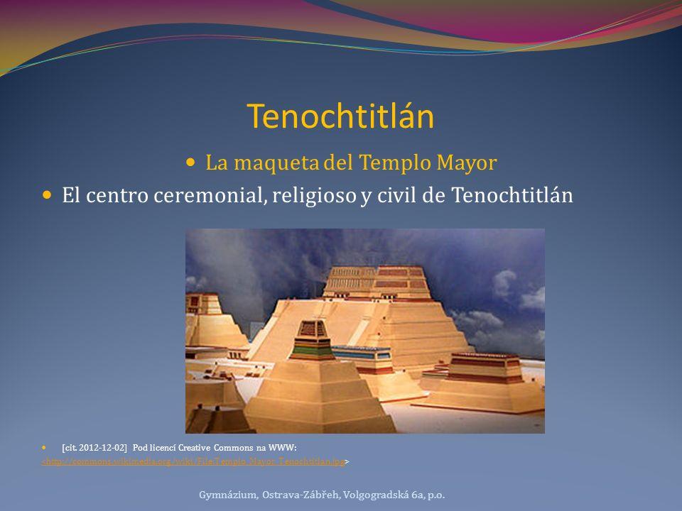 La maqueta del Templo Mayor