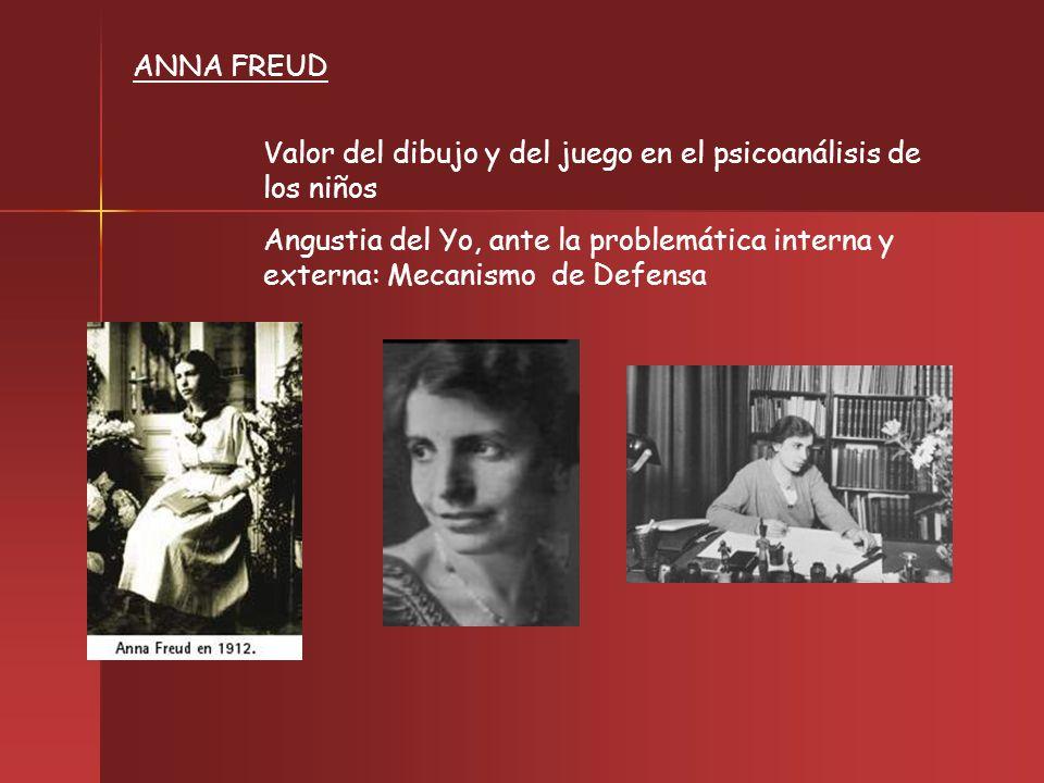 ANNA FREUD Valor del dibujo y del juego en el psicoanálisis de los niños.