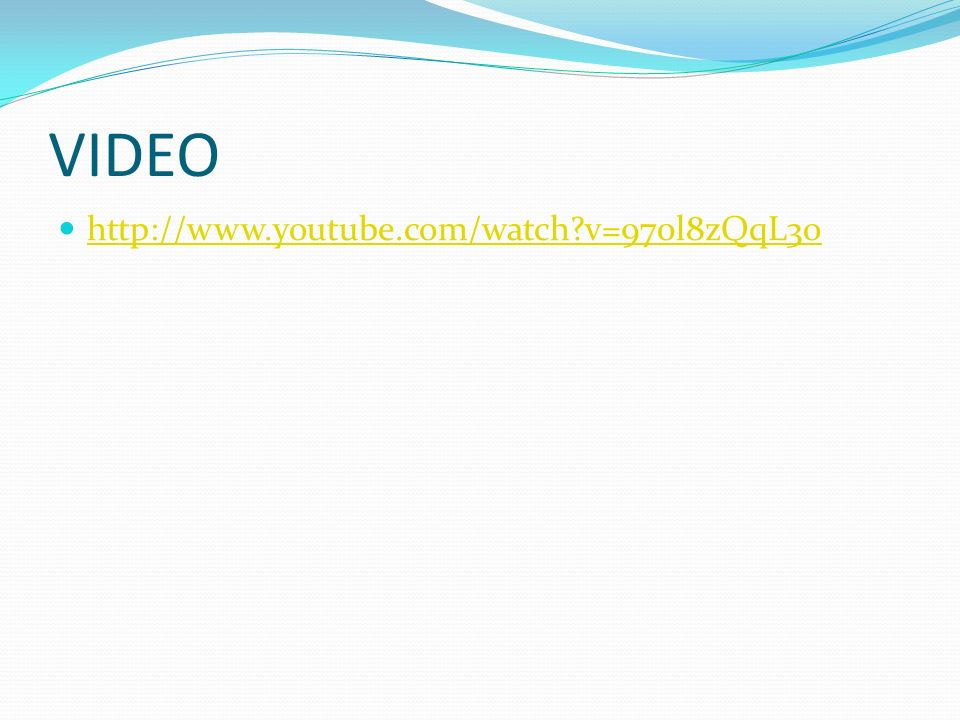 VIDEO http://www.youtube.com/watch v=970l8zQqL3o