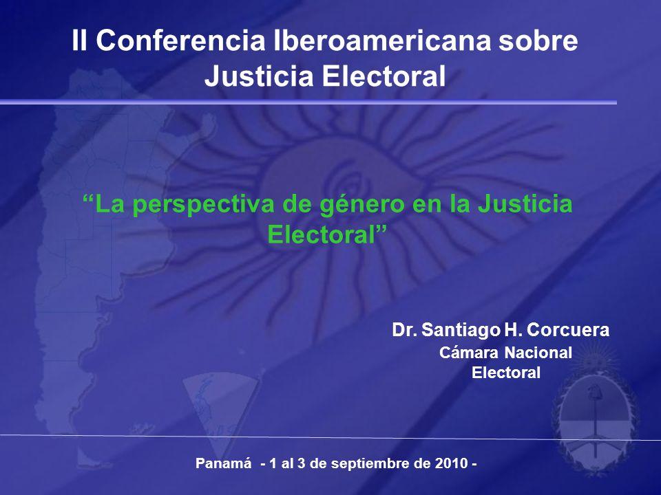II Conferencia Iberoamericana sobre Justicia Electoral