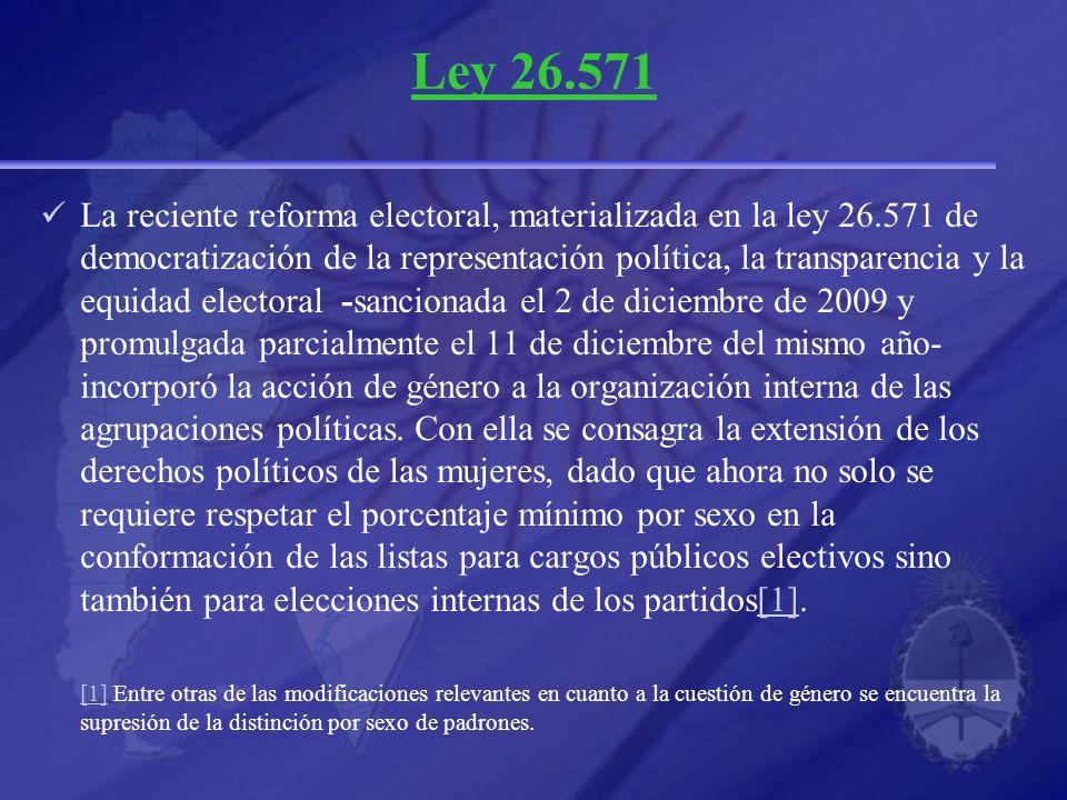 Ley 26.571