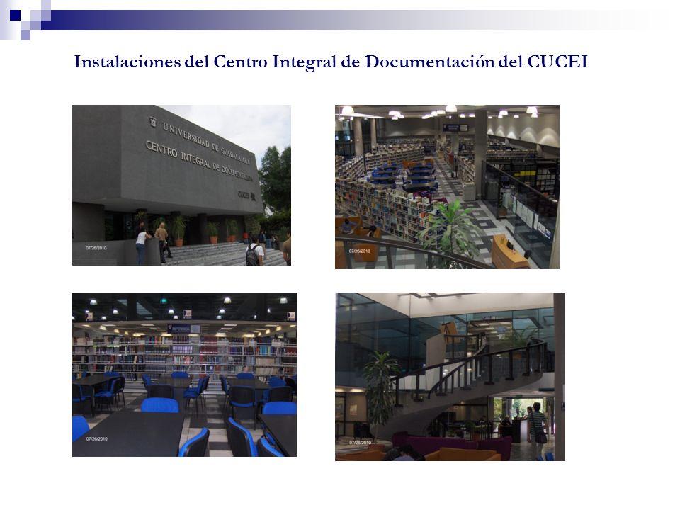 Instalaciones del Centro Integral de Documentación del CUCEI
