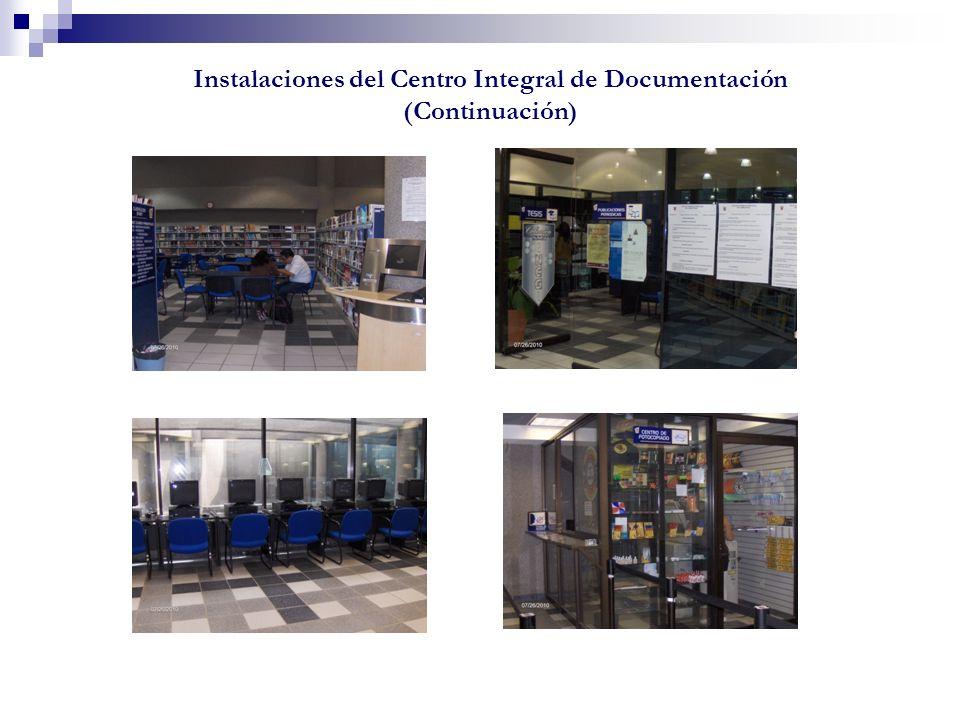 Instalaciones del Centro Integral de Documentación