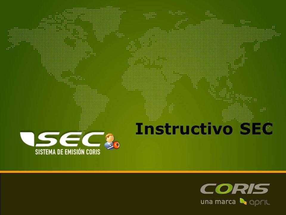 Instructivo SEC