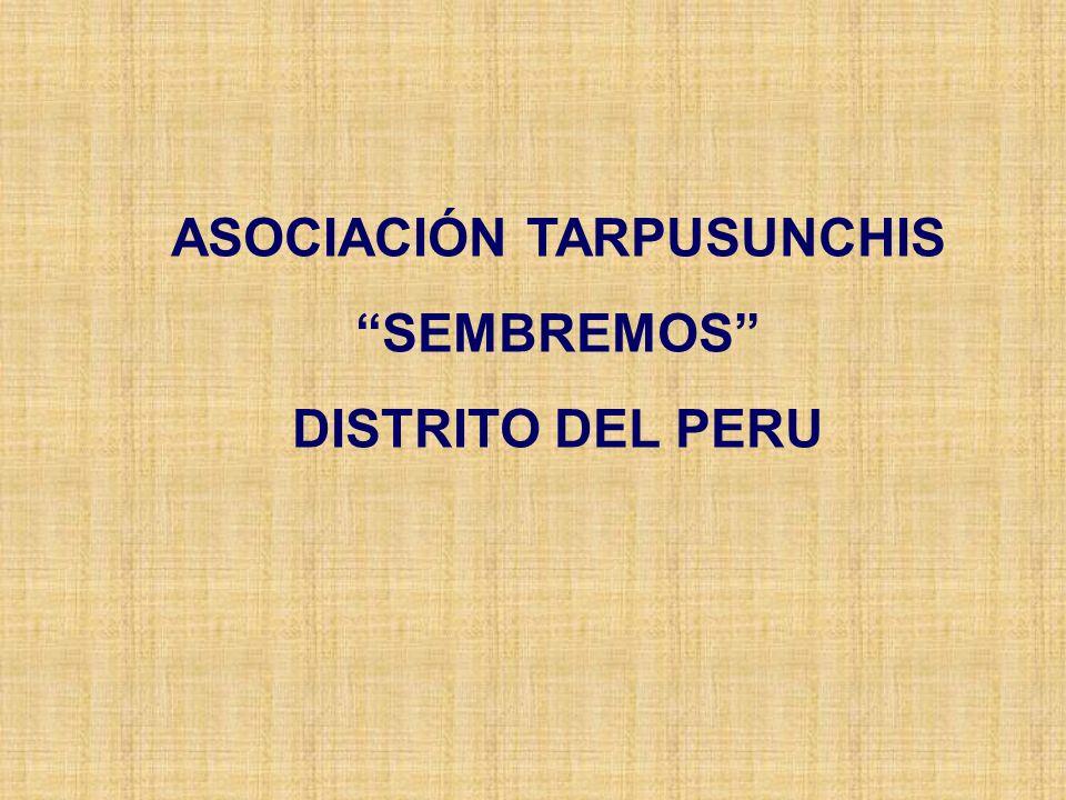 ASOCIACIÓN TARPUSUNCHIS