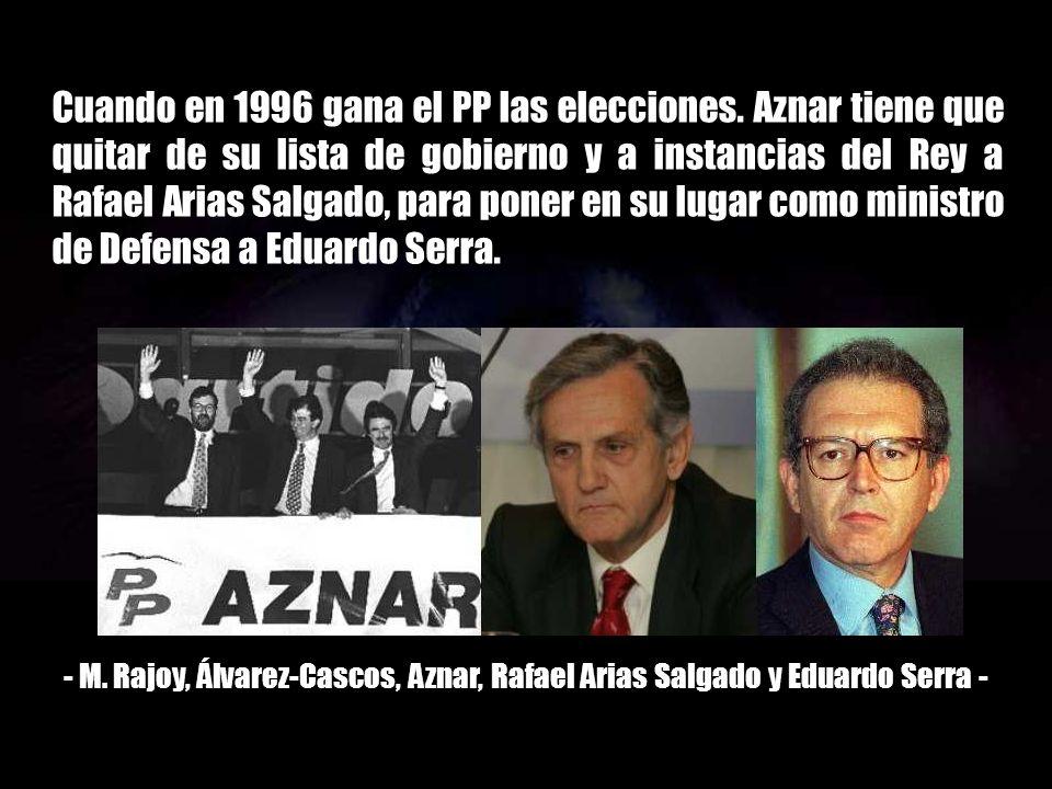 Cuando en 1996 gana el PP las elecciones