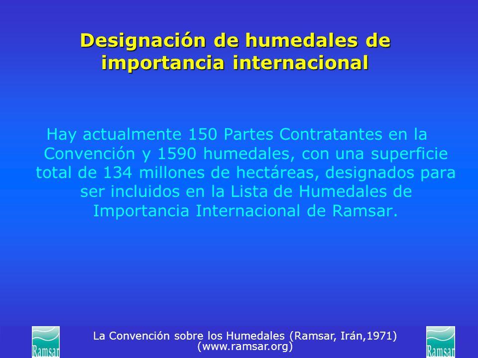 Designación de humedales de importancia internacional