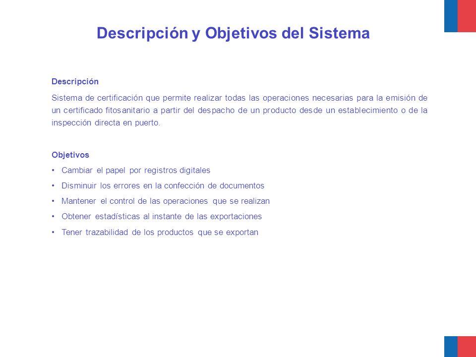 Descripción y Objetivos del Sistema