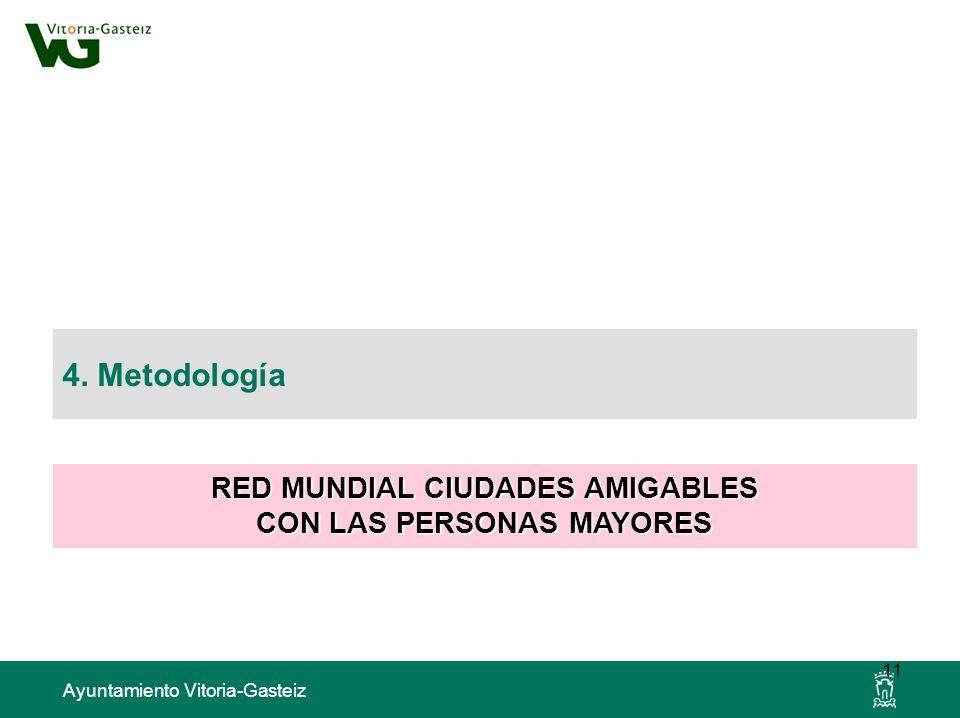 RED MUNDIAL CIUDADES AMIGABLES CON LAS PERSONAS MAYORES