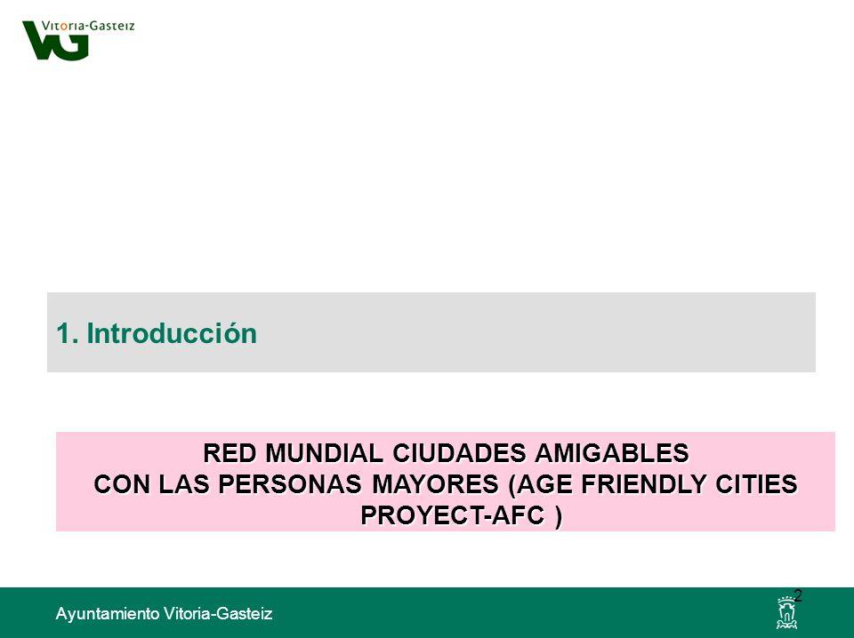 1. Introducción RED MUNDIAL CIUDADES AMIGABLES