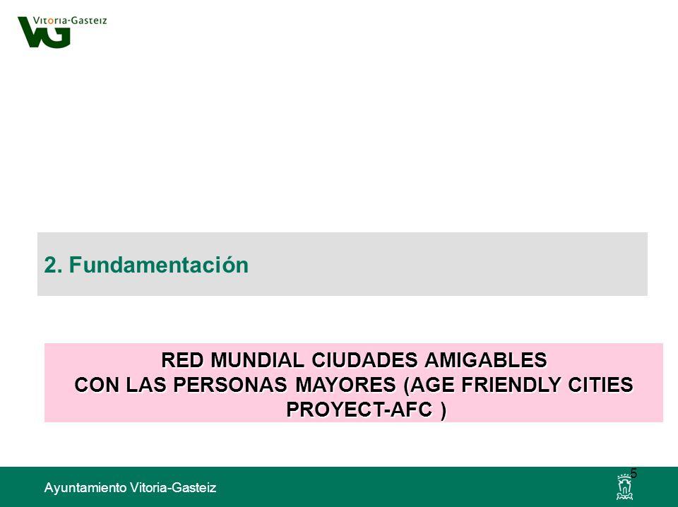 2. Fundamentación RED MUNDIAL CIUDADES AMIGABLES