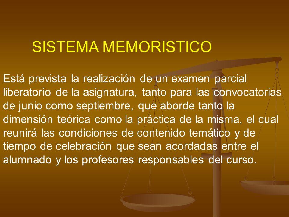 SISTEMA MEMORISTICO