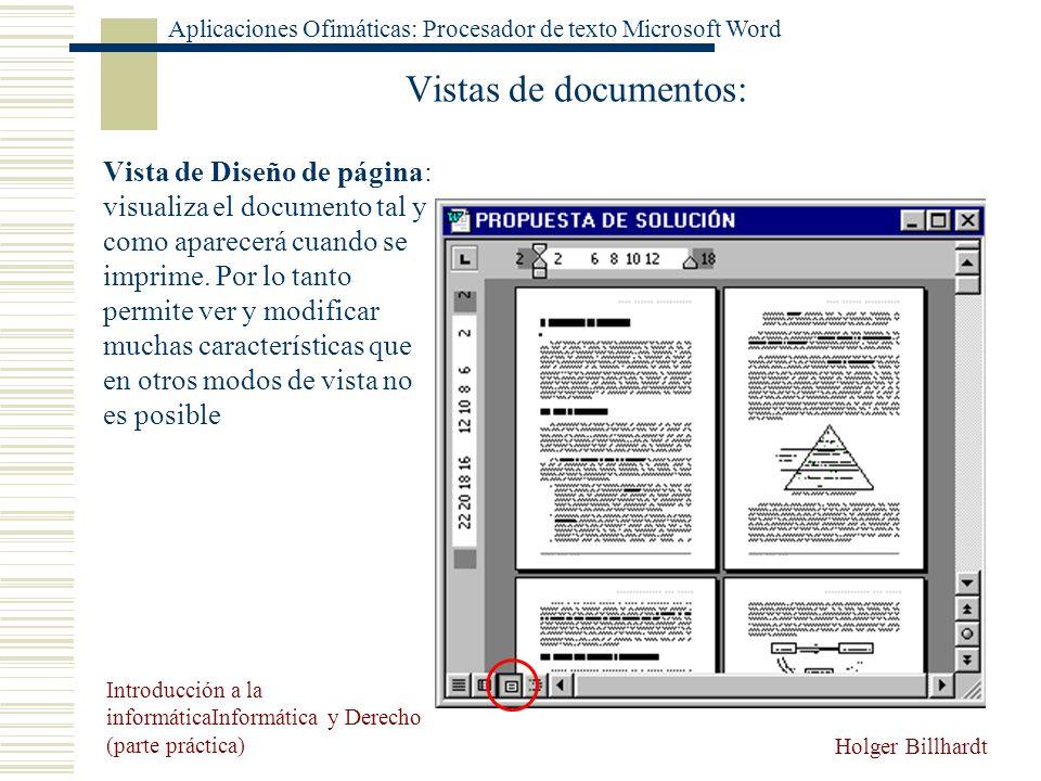 Vistas de documentos: