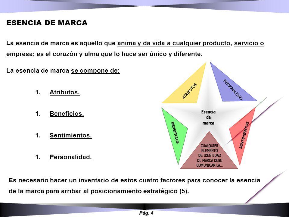 ESENCIA DE MARCA