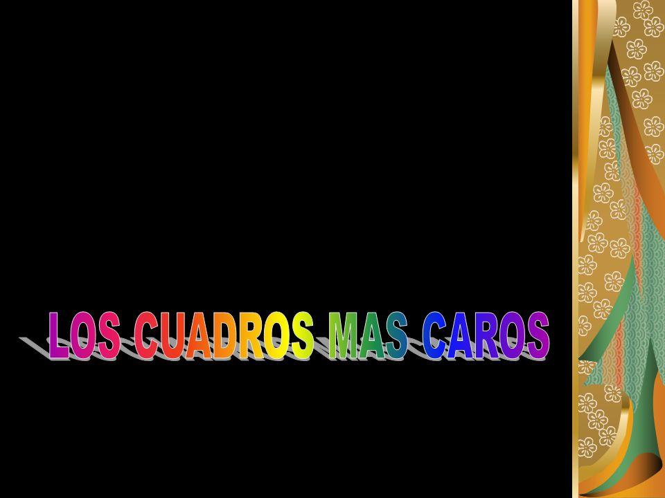 LOS CUADROS MAS CAROS