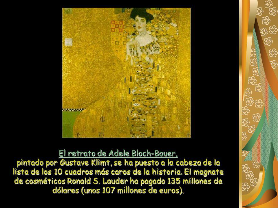 El retrato de Adele Bloch-Bauer,