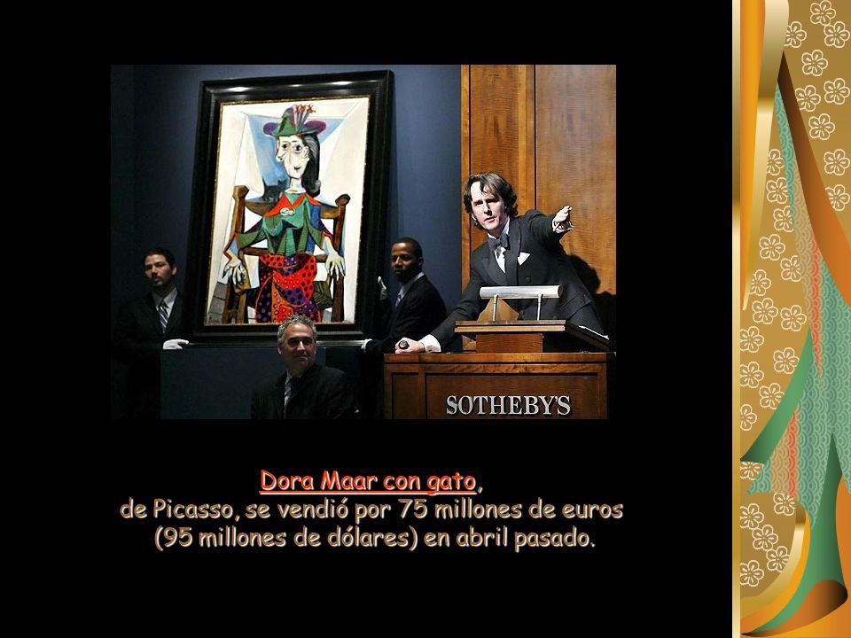 de Picasso, se vendió por 75 millones de euros