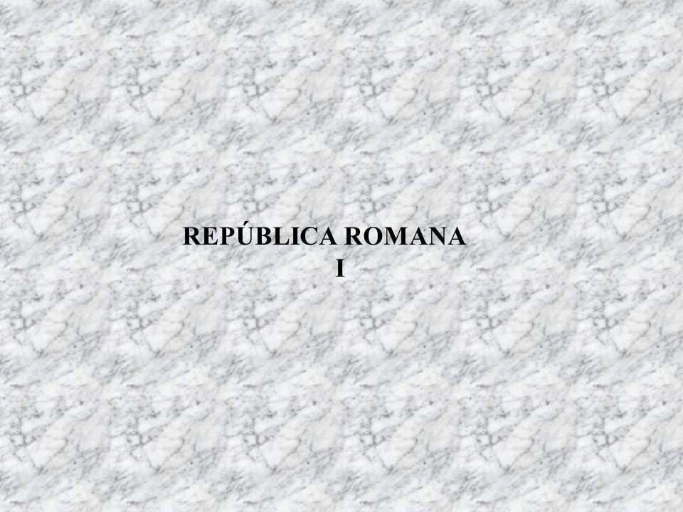 REPÚBLICA ROMANA I