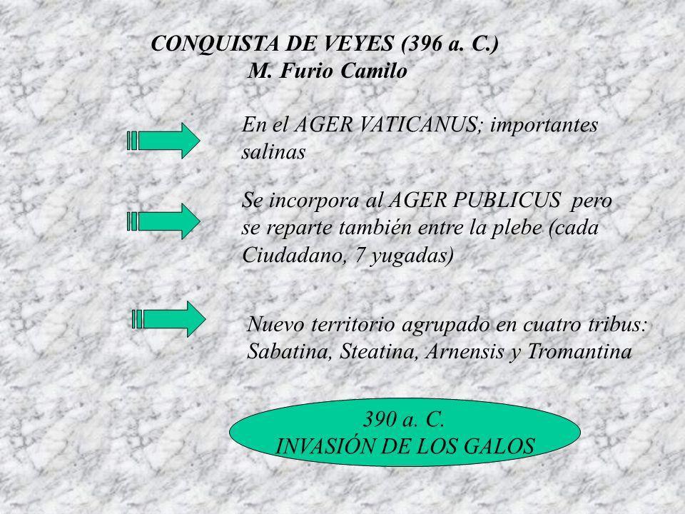 CONQUISTA DE VEYES (396 a. C.)