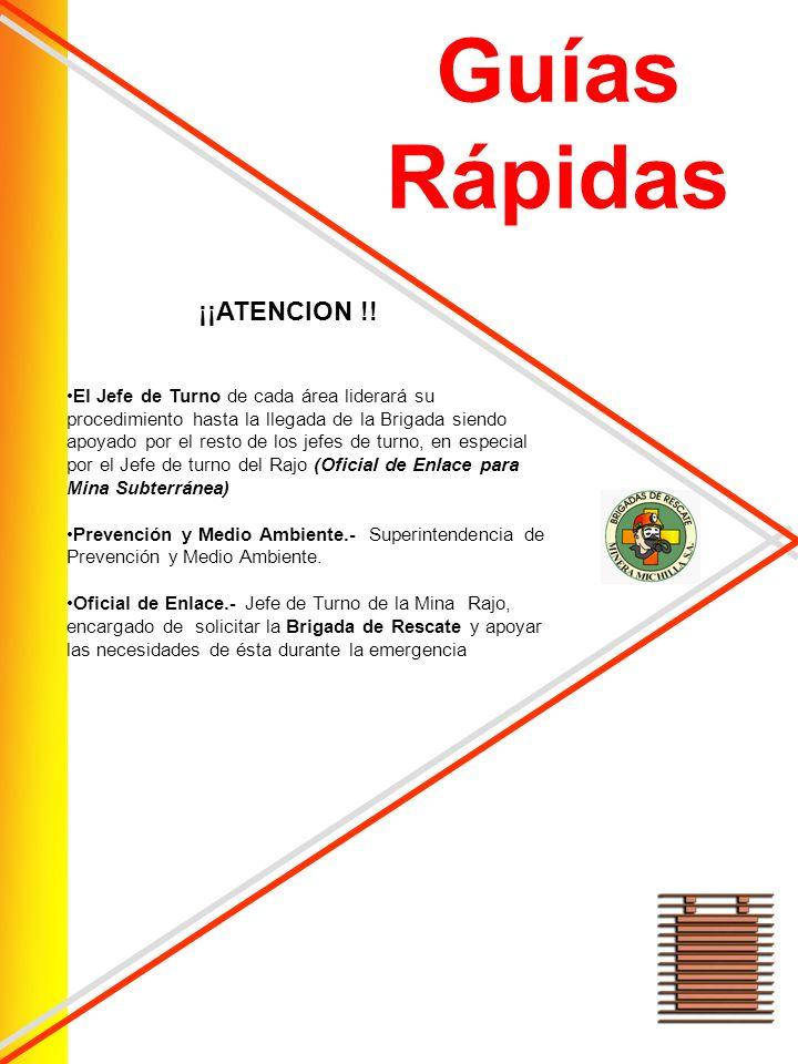 Guías Rápidas ¡¡ATENCION !!