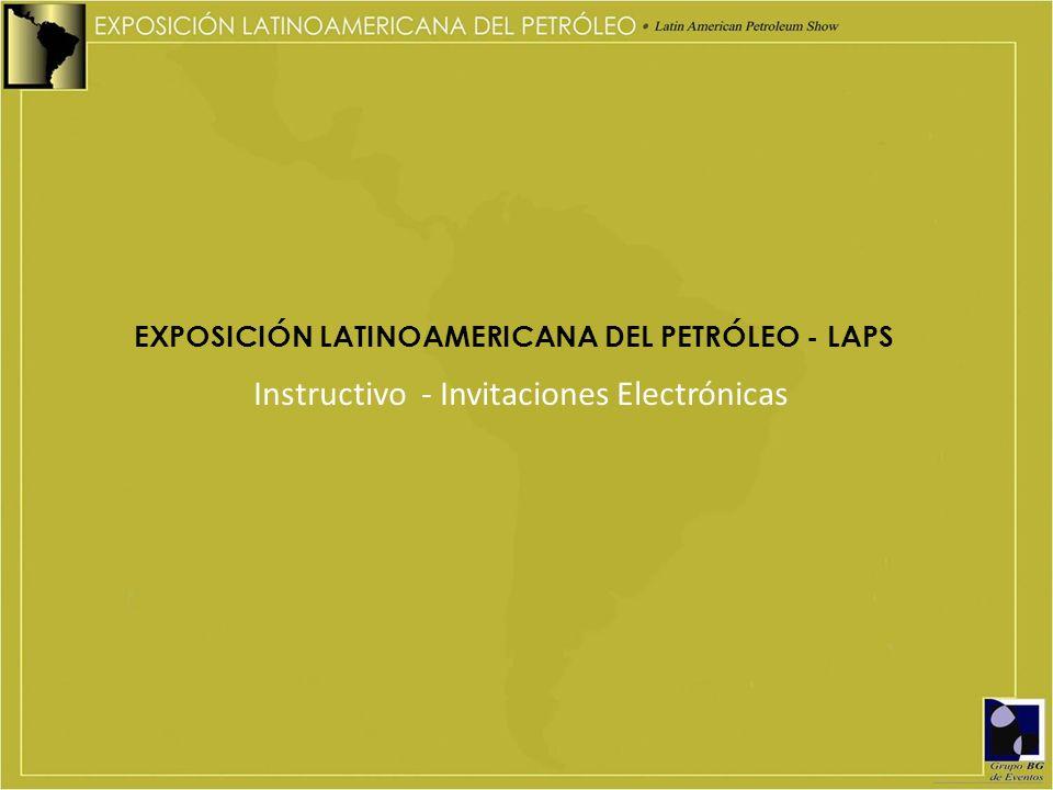 Instructivo - Invitaciones Electrónicas