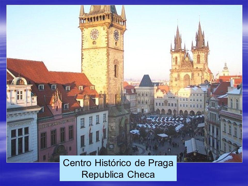 Centro Histórico de Praga Republica Checa