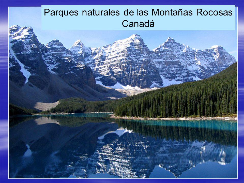 Parques naturales de las Montañas Rocosas Canadá