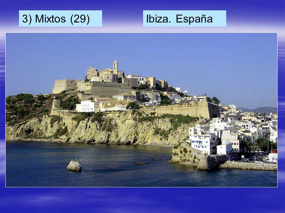 3) Mixtos (29) Ibiza. España