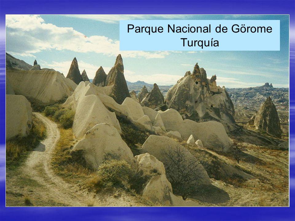 Parque Nacional de Görome Turquía