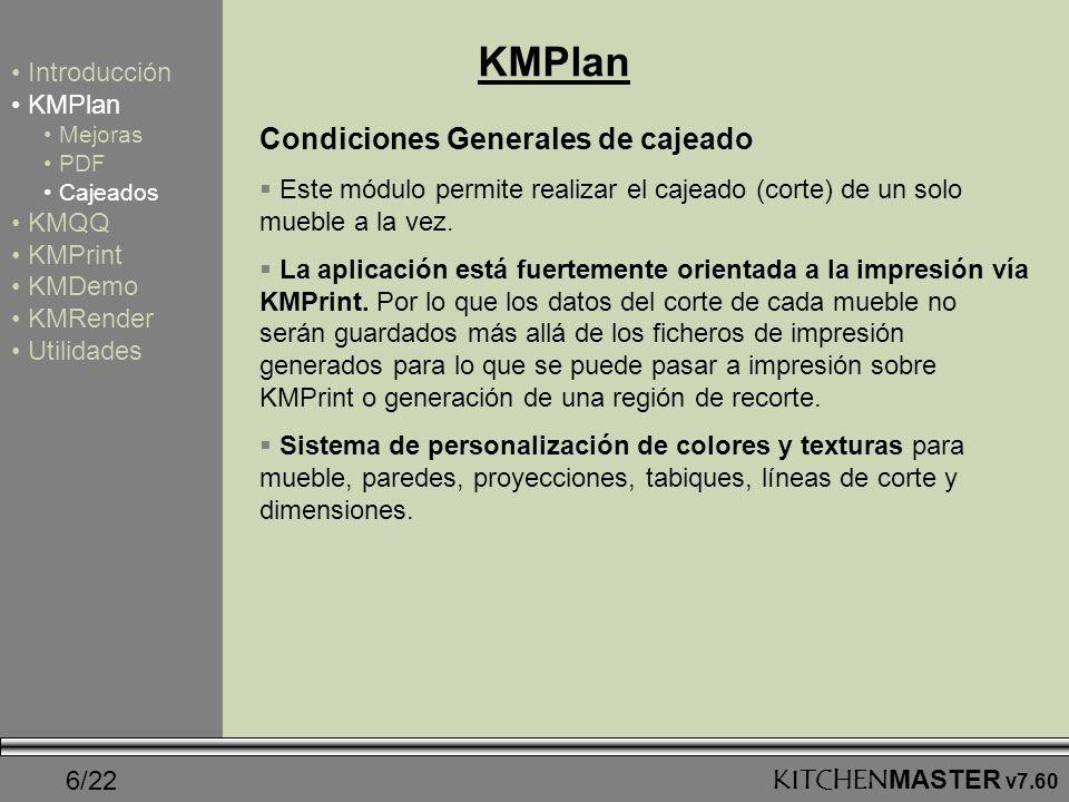 KMPlan Condiciones Generales de cajeado Introducción KMPlan KMQQ