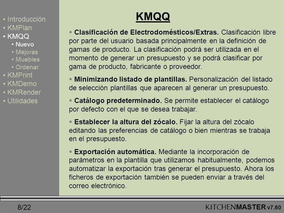 KMQQ Introducción KMPlan KMQQ