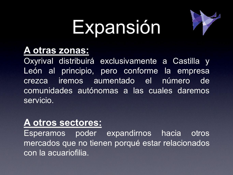 Expansión A otras zonas: A otros sectores: