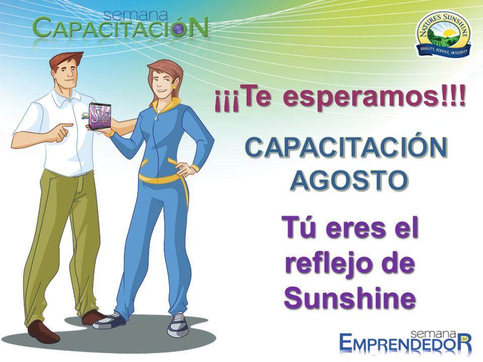 Tú eres el reflejo de Sunshine