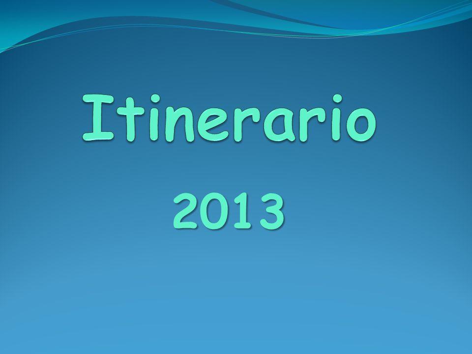 Itinerario 2013