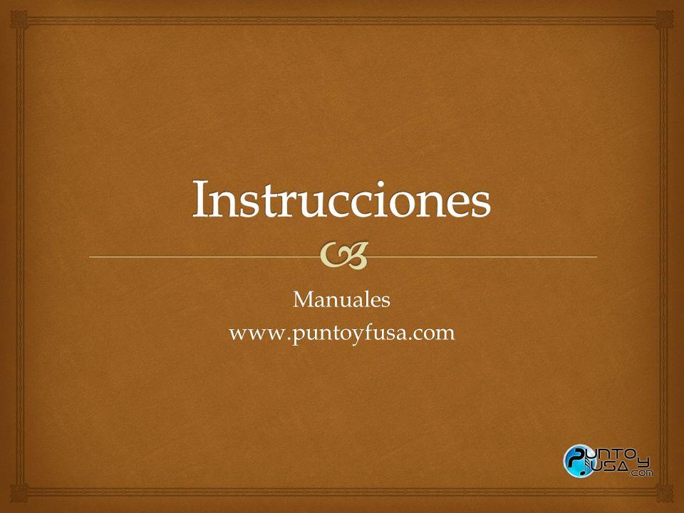 Manuales www.puntoyfusa.com
