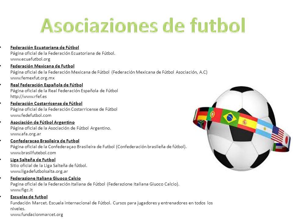 Asociaziones de futbol