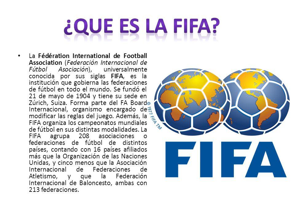 ¿Que es la FIFA
