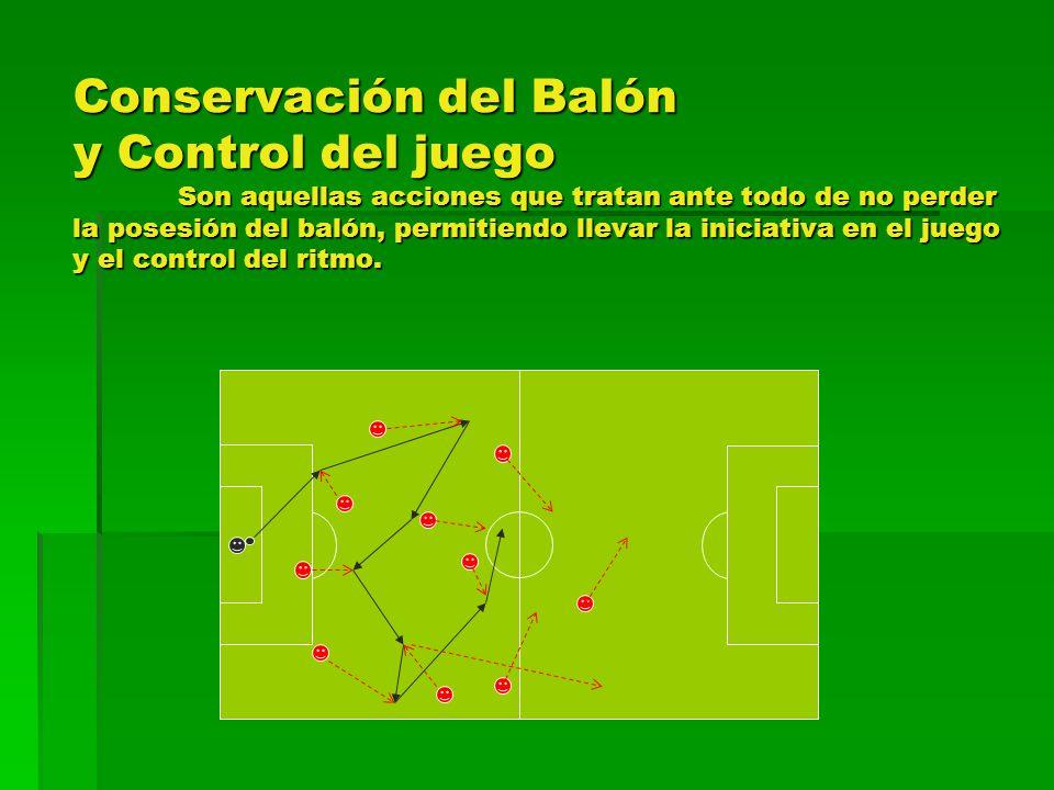 Conservación del Balón y Control del juego