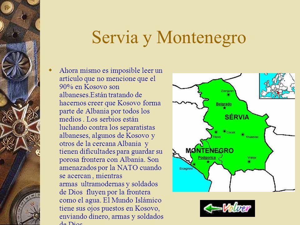 Servia y Montenegro