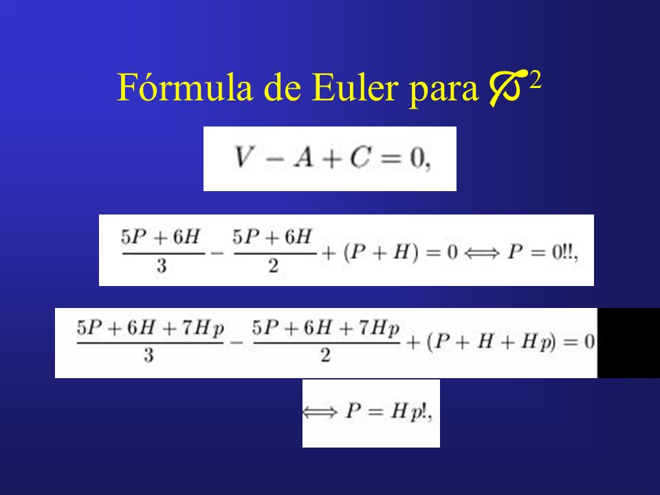 Fórmula de Euler para 2