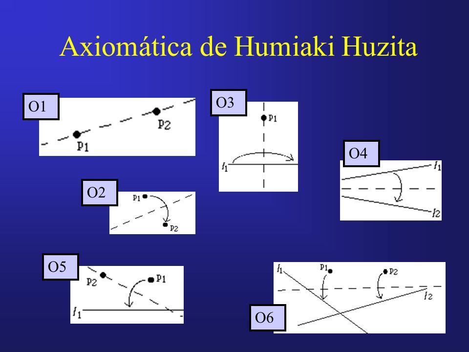 Axiomática de Humiaki Huzita